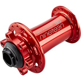 ACROS Nineteen ED Front Wheel Hub TA15, red
